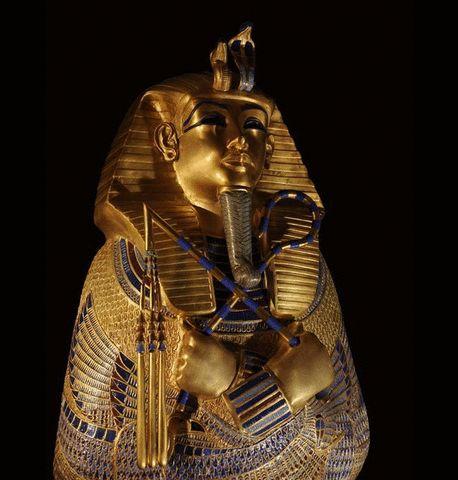 História Dinâmica: A arte do Egito Antigo.
