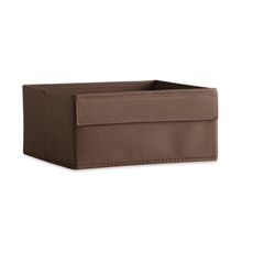 Real Simple Half Height Fabric Drawer - Espresso - Bed Bath & Beyond