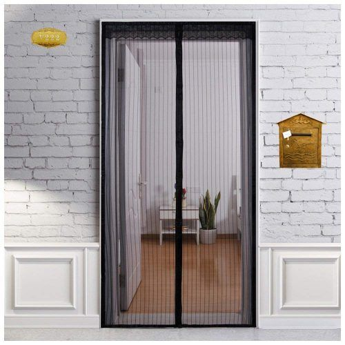 Heeku Magnetic Screen Door Top To Bottom Ultra Seal Magnets Shut Automatically Mesh Screen Door Insect Screen Door Magnetic Screen Door