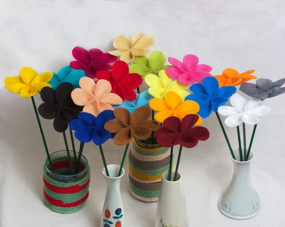 ❀ Blumenstrauß - erstelle ihn dir selbst ❀ http://de.dawanda.com/product/42609918--Blumenstrauss---erstelle-ihn-dir-selbst-
