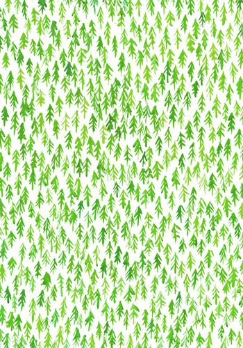 paint a whole wall  p-a-r-a-p-h-e-r-n-a-l-i-a:    art—freak:    Forest pattern (by Lu Green)