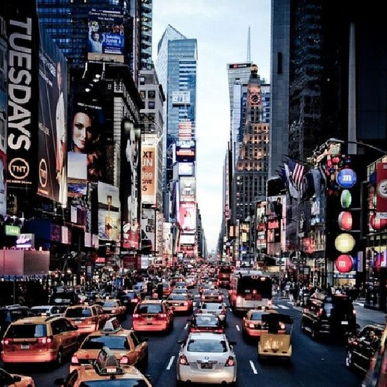 A trip to the Big Apple must include a stop in Times Square!