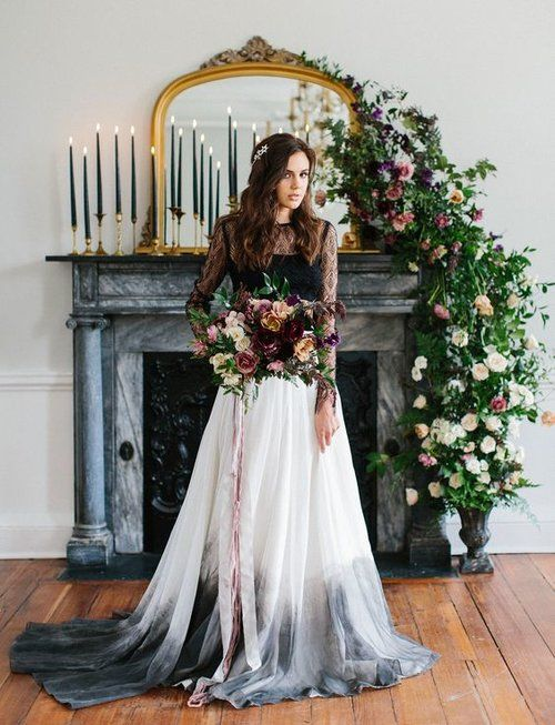 Can Wedding Dresses Be Dyed Dip Dye Wedding Dress Dipped Wedding Dress Dye Wedding Dress