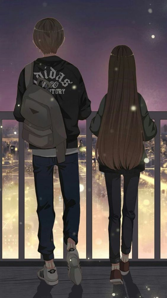 Anime couple: