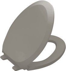 Kohler K-4713 French Curve Q3 Elongated Closed-Front Toilet Seat with Quiet Clos