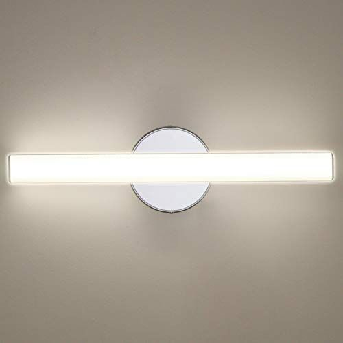 Oowolf Led Vanity Lights 12w 17 3in Led Mirror Front Light 4000k 1200lm Bathroom Lighting Fixture Wall Lamp Make Up Mirror Front Light Natural White In 2020 Badezimmer Licht Schminktisch Mit Licht Led