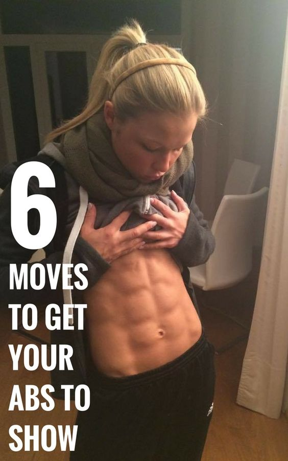 6 Moves to Get Your Abs to Show