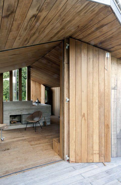 Poplar Garden House: Summer Living in The Netherlands