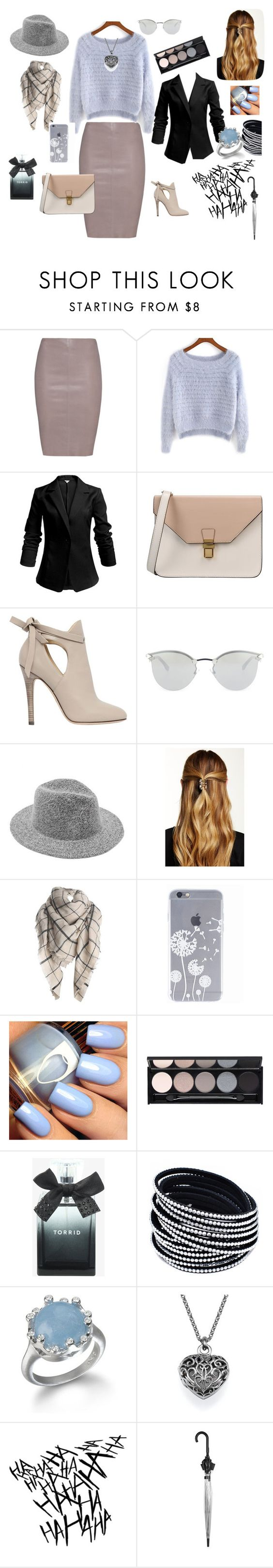 """""""Estilosa"""" by ruthxrc ❤ liked on Polyvore featuring Jitrois, 8, Jimmy Choo, Fendi, Natasha Accessories, Witchery, Torrid and Topshop"""