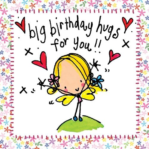 Image result for happy birthday hugs