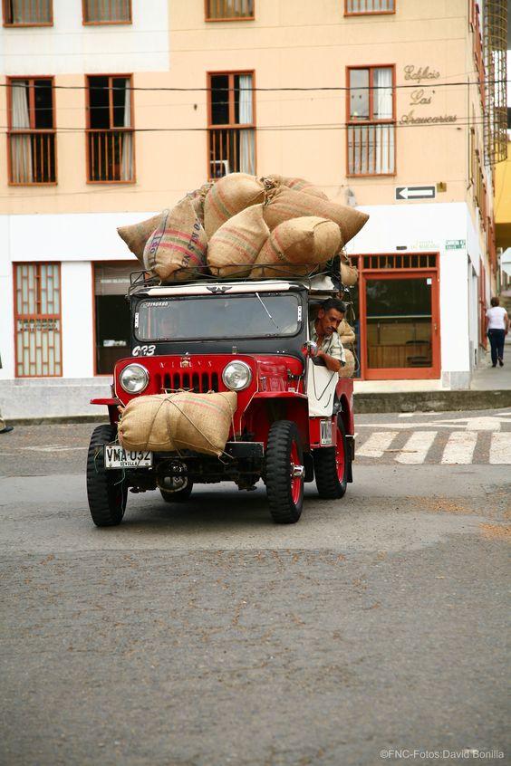 Transporte típico de la región / Region typical car