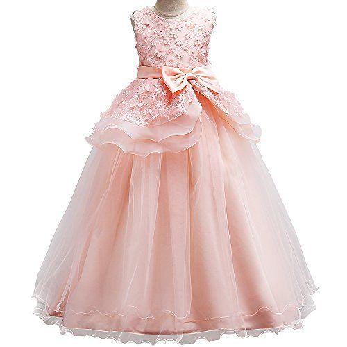 NEW TODDLER GIRL PAGEANT WEDDING DANCE FORMAL DRESS GREEN Yellow 1 2 3 4 5 6 7