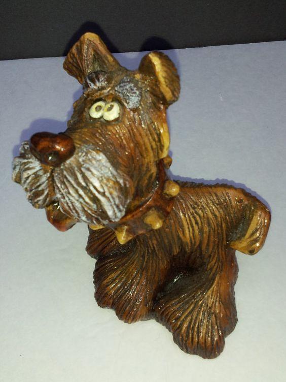 Vintage 1982 Beasties of the Kingdom Terrier by BrightStarTrader, $35.00