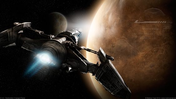 D.S.E. Redirected | Foreign Planet by MarkusVogt #scifi #space