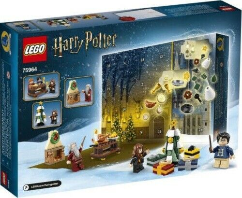 Lego Harry Potter Advent Calendar Holiday Gift Set 305 Pcs