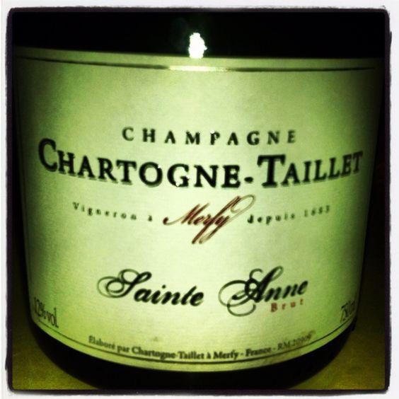 Champagne Cartogne St Anne #terresetvins #champagneday!
