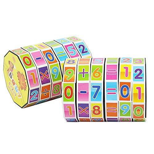Funny Original Children Kids Mathematics Numbers Magic Cube Toy Puzzle Game Gift