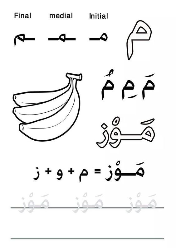 my first letters and words book practicelearnarabic practice and learn arabic facebook group. Black Bedroom Furniture Sets. Home Design Ideas