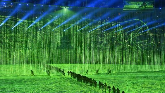 Olympia 2016 Eröffnungsfeier Performance