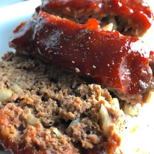 5 Ingredient Easy Meatloaf Without Breadcrumbs Talking Meals Recipe Easy Meatloaf Meat Loaf Recipe Easy Meatloaf