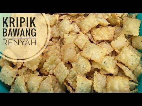 Resep Kripik Bawang Renyah Youtube Resep Makanan Ringan Sehat Resep Labu Kuning