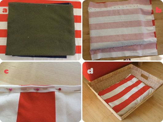 Upcycle Old Towels to Pad the Perfect Dog Bed