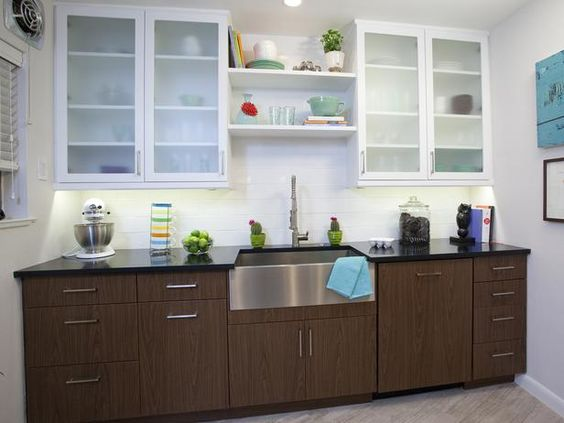 Small Modern Kitchen Design Ideas: HGTV Pictures & Tips : Rooms : Home & Garden Television
