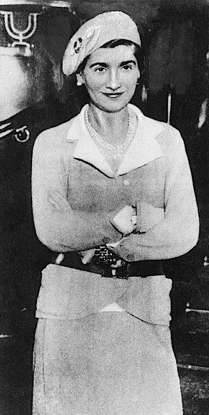 French fashion designer Coco Chanel (1883 - 1971), 1932