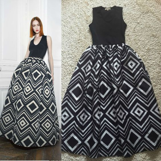 Summer 2014 Holiday Charming Printed Ball Gown Long Dress 140111Z01 $69.00
