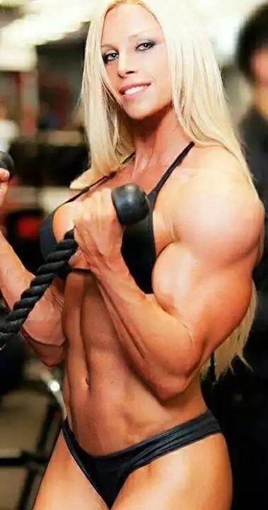 Muscular Woman Power Videos 71