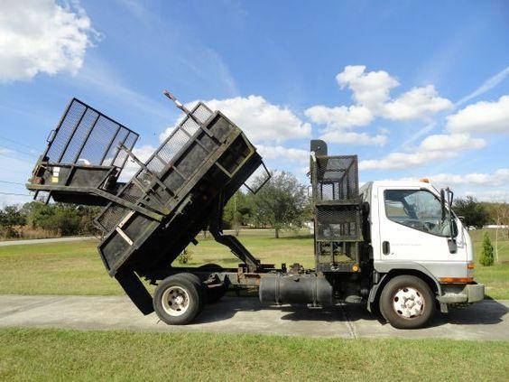 Mitsubishi Fuso Land King Dump Body Landscape Trailers Dump Body Lawn Mowing Business