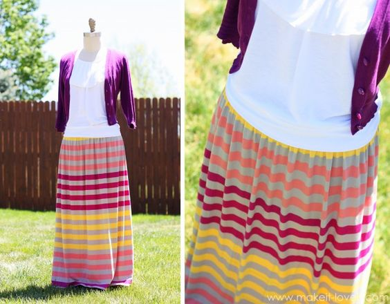 Maxi Dress into Maxi Skirt