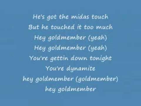 goldmember by beyonce lyrics