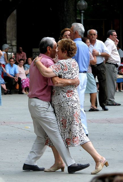 Never too old to Tango...