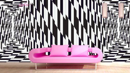 #Geometric #wallpaper MIRAGE by Glamora S.r.l.