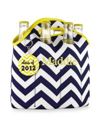personalized 6 pack carrier $26
