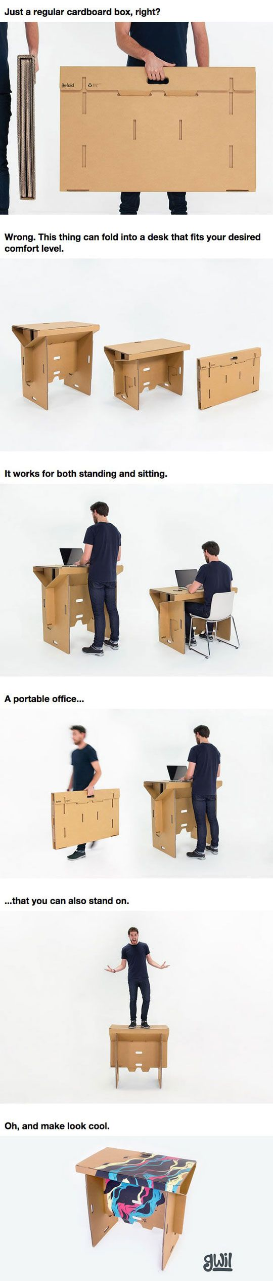 This may look like a cardboard box but it s so much more for Architecture students 9gag