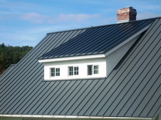 GREAT DESIGN.. this is a SOLAR roof - the ENTIRE roof... can't see the solar panels.. an attractive alternative to the solar panels of yesteryear...