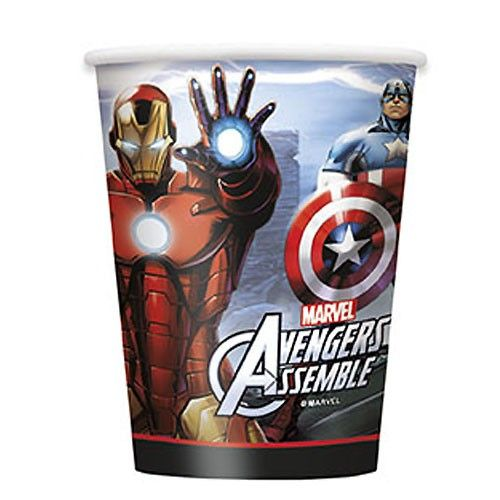 Marvel's Avengers 9 oz Cups [8 Per Package] | 30333840 | $4.99