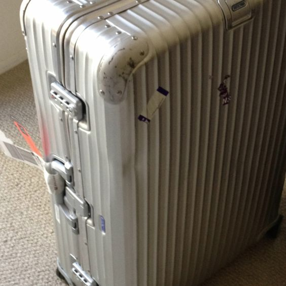 Rimowa is the best luggage in the world!