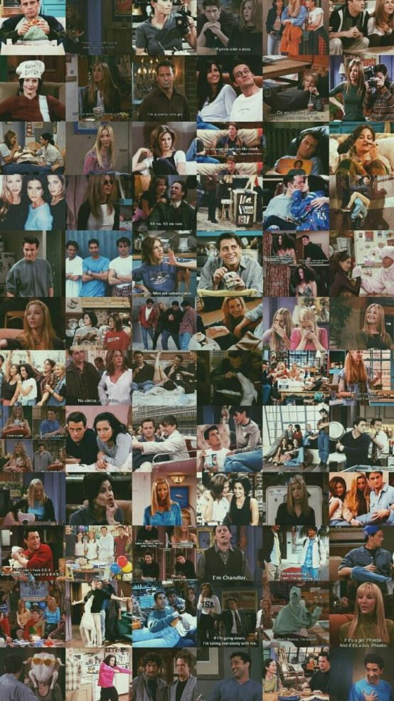 Friends Lock Tvseries Tv Series Collage Friends Series