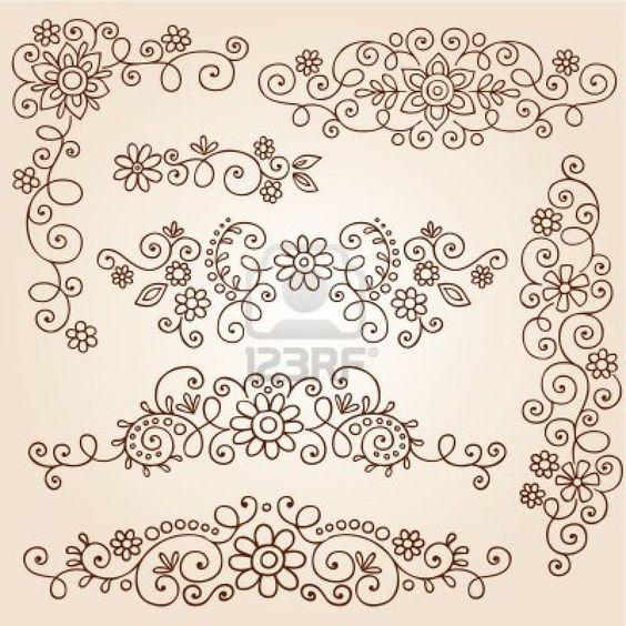henna-paisley-vines-and-flowers-mehndi-tattoo-doodles