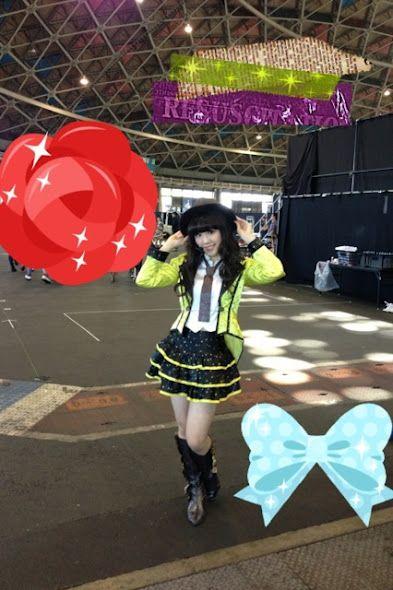 石田安奈 - Google+ - ミニライブ終わったよー♬*゜ 踊ったらお腹空いたっ(/ω\)