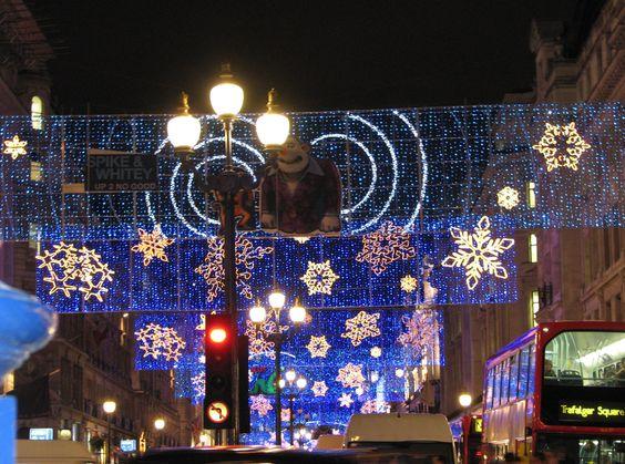 Regent Street, London Christmas 2006