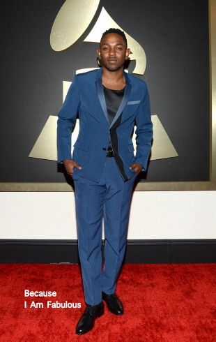 Fabulously Spotted: Kendrick Lamar Wearing Dior Homme - 2014 Grammy Awards  - http://www.becauseiamfabulous.com/2014/01/kendrick-lamar-wearing-dior-homme-2014-grammy-awards/