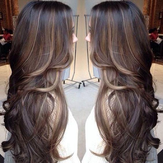 brunette\u2022balayage