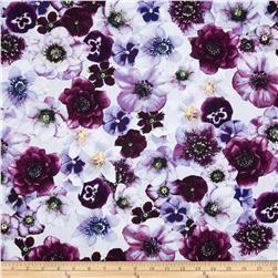 Kanvas Papillon Violette Lilac