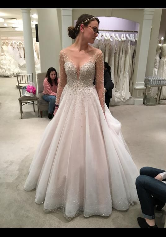Dennis Basso Beaded Ball Gown | Size: 8