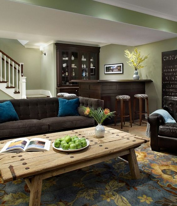 Paint Colors, Basement Family Rooms And Kitchens On Pinterest