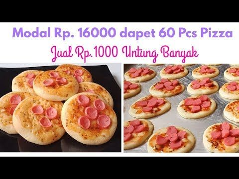 Ide Jualan 1000 An Resep Pizza Mini Youtube Resep Makanan Penutup Makanan Makanan Dan Minuman